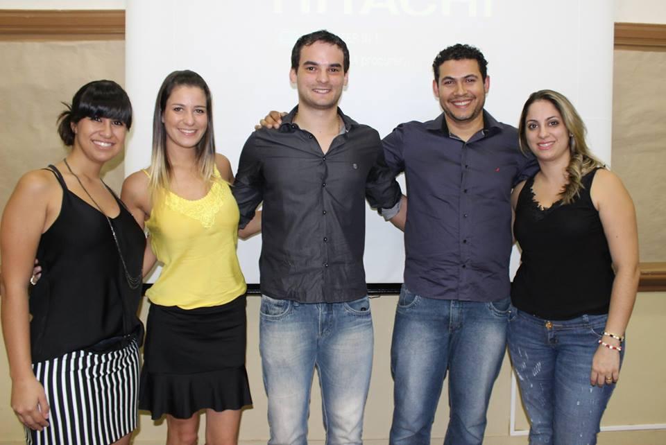 Mayne Santos, Natália Ferro, Diego Andreasi, Rafael e Natália Rosan