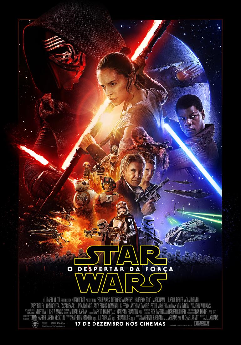 Poster do filme Star Wars: O Despertar da Força