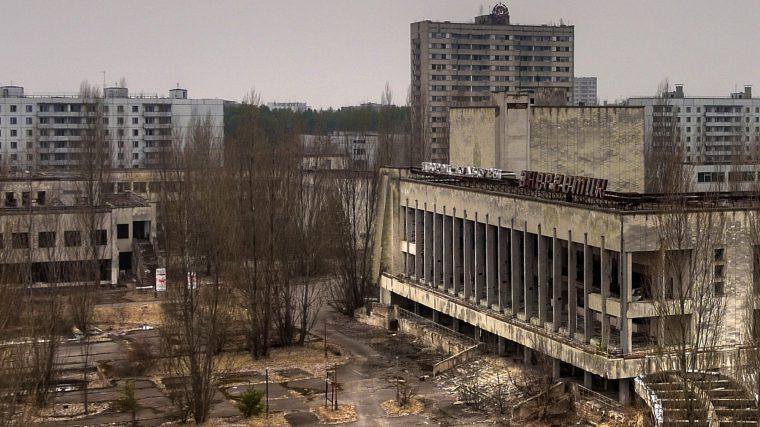 história real Chernobyl cidade