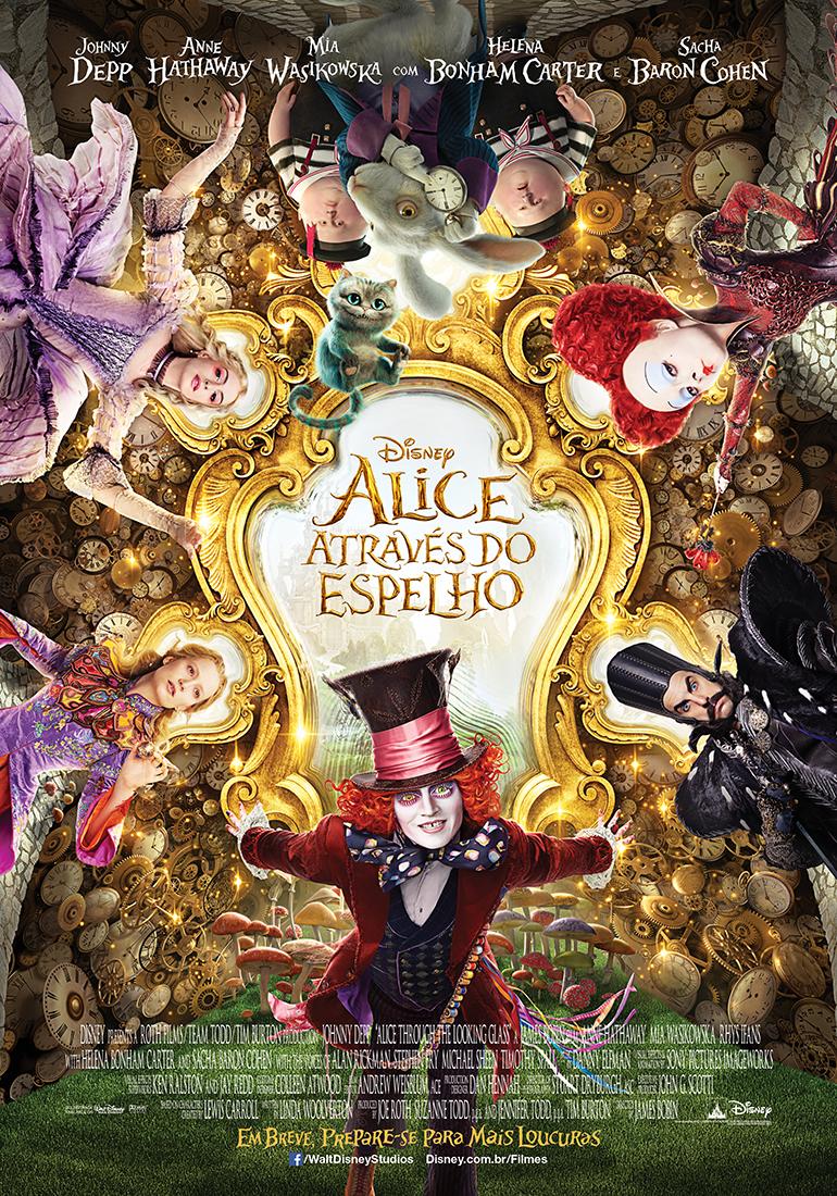 Poster do filme Alice Através do Espelho