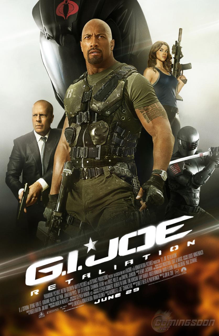 Poster do filme G.I. Joe: Retaliação