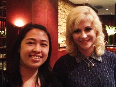Pixie Lott in Singapore