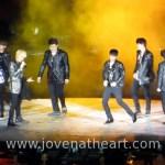Super Junior during A-Cha