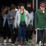 ZE:A 5 arriving at KBS