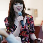 Carly Rae Jepsen at the Social Star Awards 2013 press conference