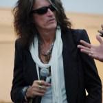 Joe Perry of Aerosmith at the Social Star Awards 2013 press conference