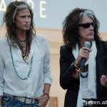 Aerosmith at the Social Star Awards 2013 press conference