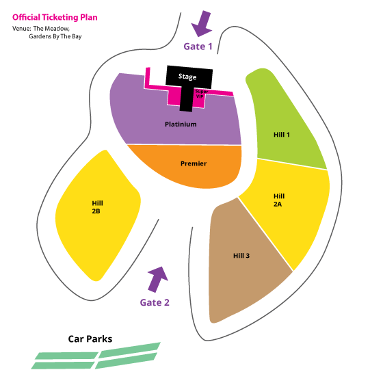 MBC Korean Music Wave 2013 layout