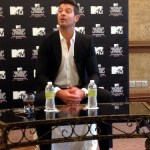 Robin Thicke Press Conference Malaysia 2013