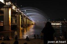 Banpo Bridge Fountain Show