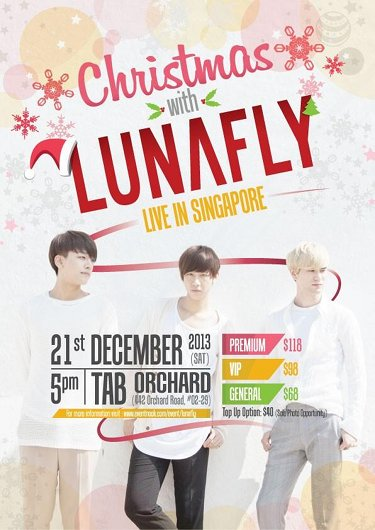 Lunafly Live in Singapore 2013