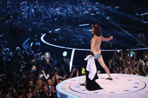 Redfoo at the MTV EMA 2013 (photo: MTV /  Getty Images)