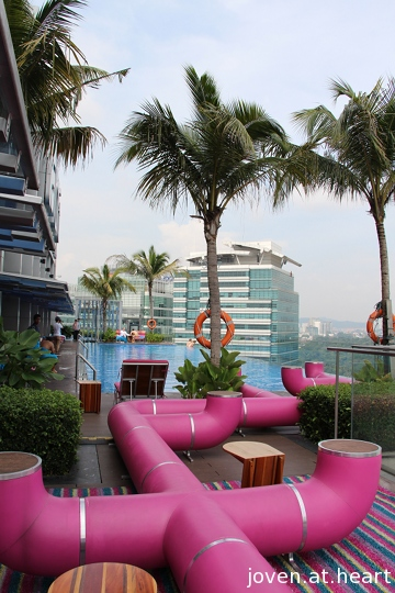 Pool @ Aloft KL Sentral