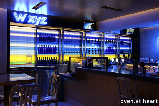 W XYZ bar @ Aloft Kuala Lumpur Sentral