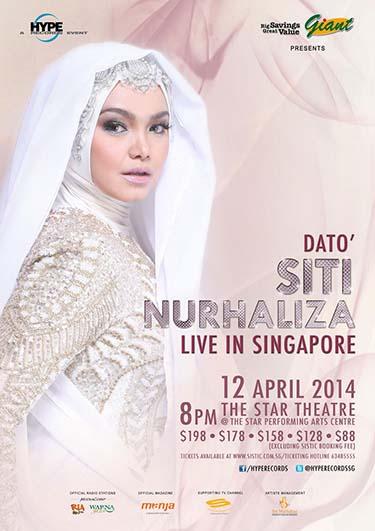 Dato' Siti Nurhaliza concert 2014