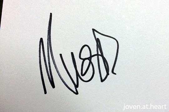 Marc Webb autograph