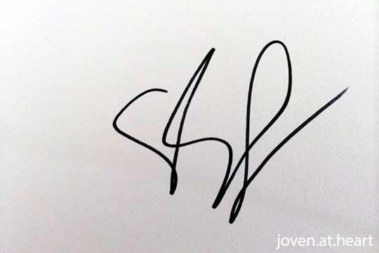 Eva Longoria autograph