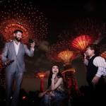 Hugh Jackman, Fan Bing Bing and Peter Dinklage at Gardens by the Bay