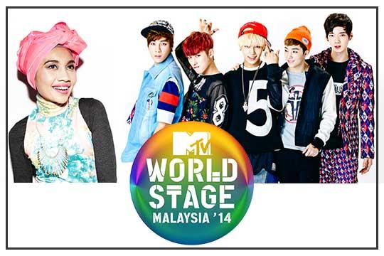 MTV Worldstage Malaysia 2014