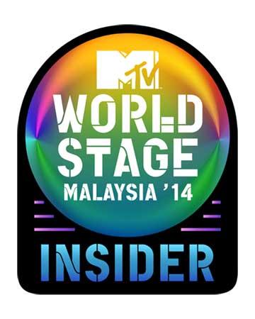 2014 MTV World Stage Malaysia Insider