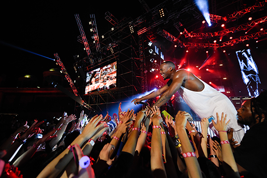 B.o.B at MTV World Stage Malaysia 2014 (photo © MTV Asia & Kristian Dowling)