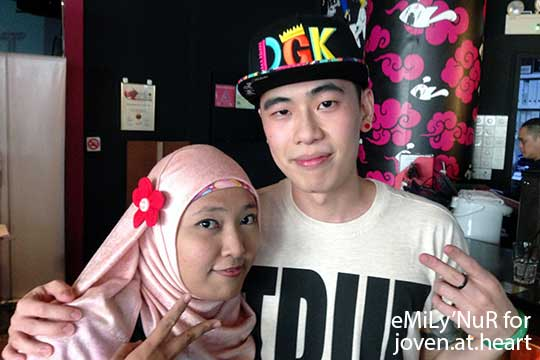 eMiLy'NuR with Marc Lian, Trick