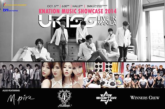 KNation Music Showcase 2014 Manila