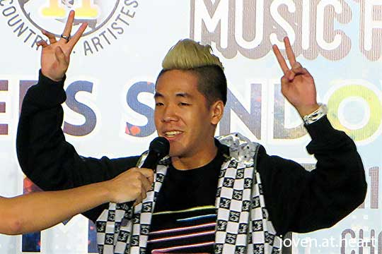 Shigga Shay @ Sundown Festival 2014 Fan Meet (Singapore)