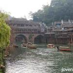 Fenghuang (Phoenix) Ancient City. Day view.