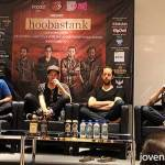 Hoobastank Press Conference, Singapore 2014