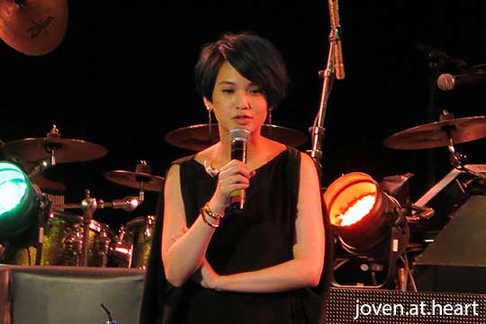 Rainie Yang @ Shanghai Dolly, Singapore 2015