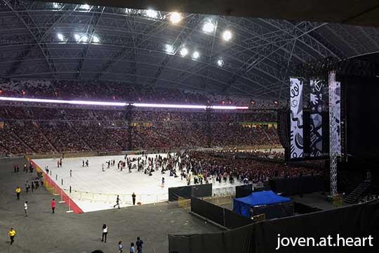 Inside Singapore National Stadium