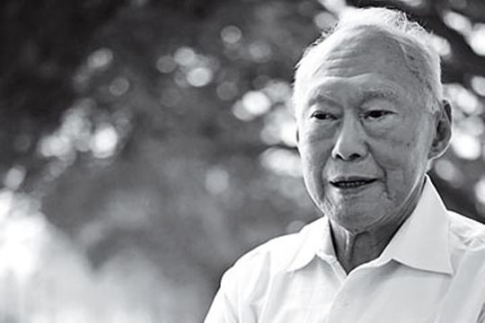 Lee Kuan Yew (16 September 1923 - March 2015)
