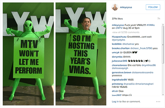 174398-MTV VMA 2015 Host Miley Cyrus_Instagram-2a9dfe-original-1437467821