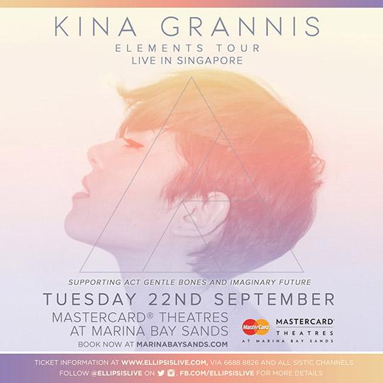 Kina Grannis SG Tour Poster