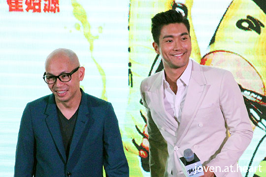 "Dante Lam & Super Junior Choi Siwon @ ""To The Fore"" Promotion, Singapore stop"