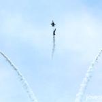 RSAF Black Knights aerial display, Singapore 50th National Day, #SG50