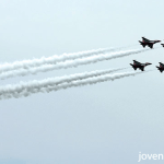 RSAF Black Knights aerial display, Singapore 50th National Day, #SG50
