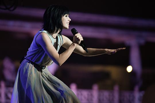Carly Rae Jepsen @ MTV World Stage Malaysia 2015 (© MTV Asia & Kristian Dowling)