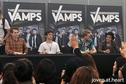 The Vamps Autograph Session @ Junction 8