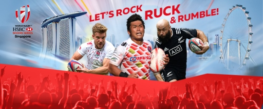 HSBC WORLD RUGBY SINGAPORE SEVENS 2016