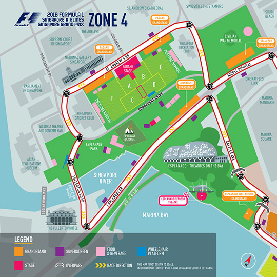 Padang Stage New Layout
