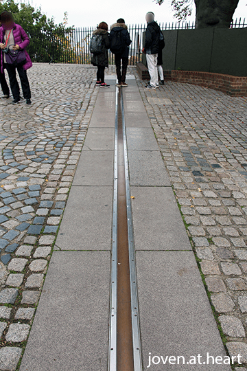 Meridian line @ Royal Observatory, Greenwich