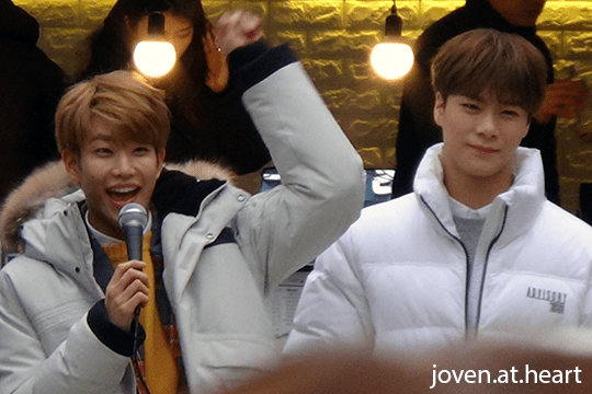 MJ & Moon Bin @ Astro Music Core Mini Fan Meeting