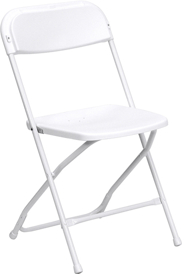 plastic folding chair