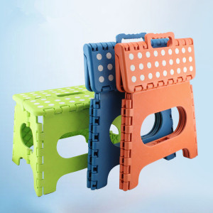 plastic folding step stool