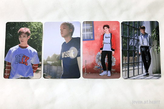The 1st Astroad To Seoul - Photo cards by Jinjin