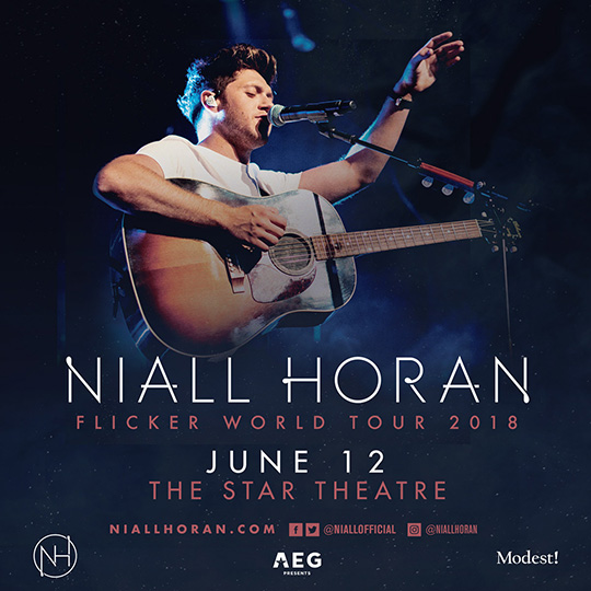 "Niall Horan ""Flicker World tour 2018"" Singapore"