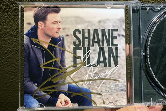 Autographed Shane Filan album