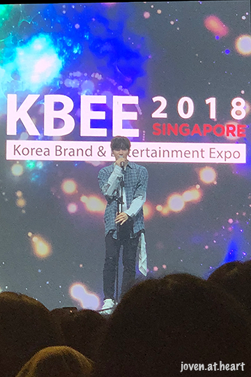 Lee Jun Ho (2PM) @ Korea Brand & Entertainment Expo 2018 Singapore